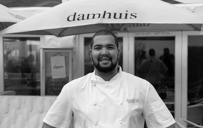Chef de Partie Robin Wessels Damhuis Restaurant