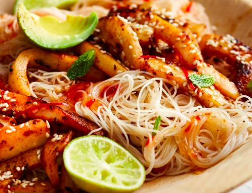 Calamari Pasta Salad Recipe from Damhuis: Recipes and Memories of a House