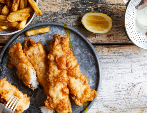 Classic Hake & Chips Recipe from Damhuis: Recipes and Memories of a House